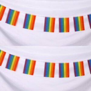 guirnalda banderas lgbt del orgullo gay fiesta cumpleaños gay decoracion homosexual