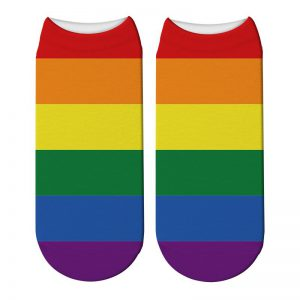 orgullo gay tobillero calcetines lgbt estampados