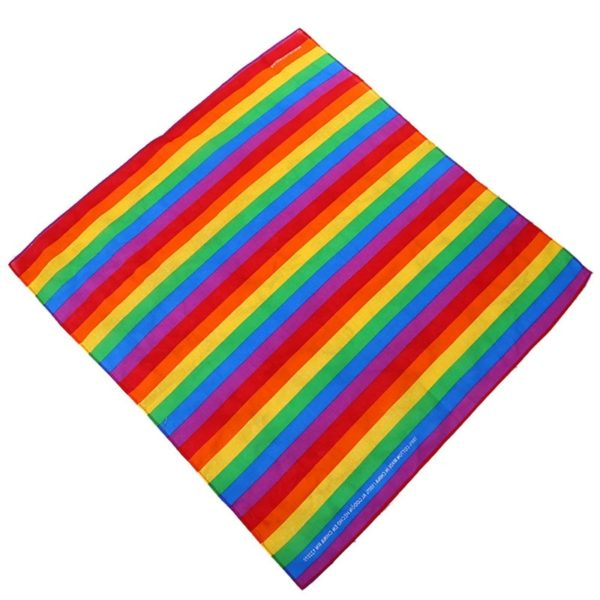 bandana orgullo gay elegante lgbt bisexual pansexual gay transexual transgenero asexual gay pride