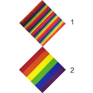 bandana orgullo gay elegante lgbt bisexual pansexual gay transexual transgenero asexual