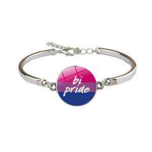 pulsera lgbt bisuteria fina barata asexual bisexual genderqueer genero fluido pansexual transexual transgenero orgullo