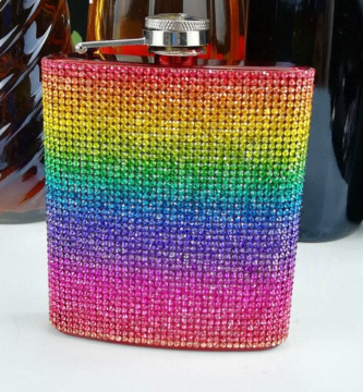 Petaca orgullo LGBT bebida alcohólica cóctel lgbt gay lesbiana bisexual transexual