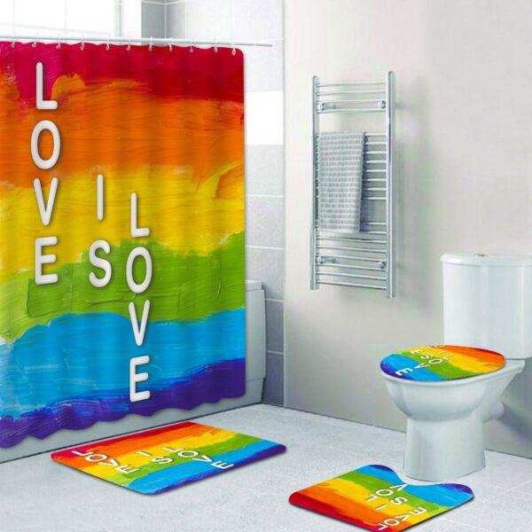 gay cortina lgbt baño cortina impermeable cortina ducha cortina bañera