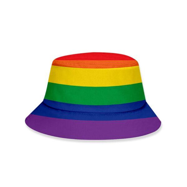 chambergo lgbt gorro pesca orgullo gay sombrero de cubo homosexual